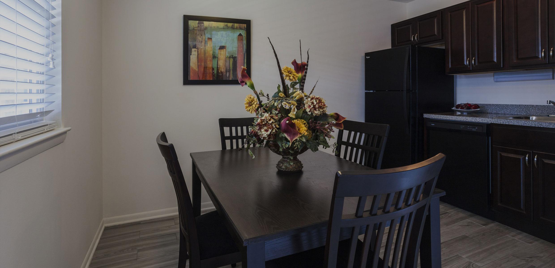 Orangewood Park Apartments Dining Area