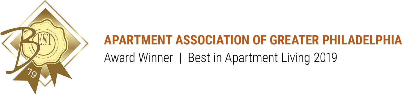 Pennsylvania Apartment Association of Greater Philadelphia Area - Best in Apartment Living 2019